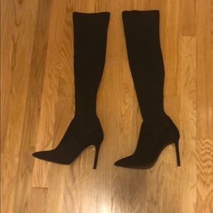 Zara over the knee stretch boot